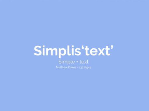 Simplis'text'