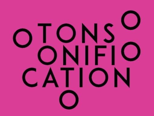Tonsonification